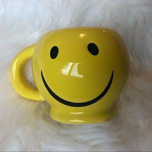 Yellow Smiley Face Coffee Mug